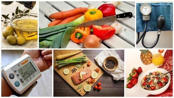 Список из 10 продуктов питания повышающих артериальное давление у человека