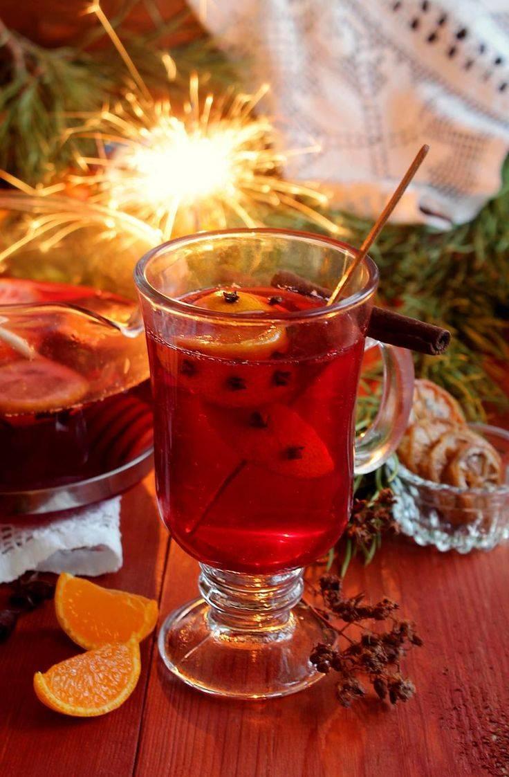 Пунш - рецепты классического алкогольного и безалкогольного напитка с яблоками, мандаринами, дугими фруктами