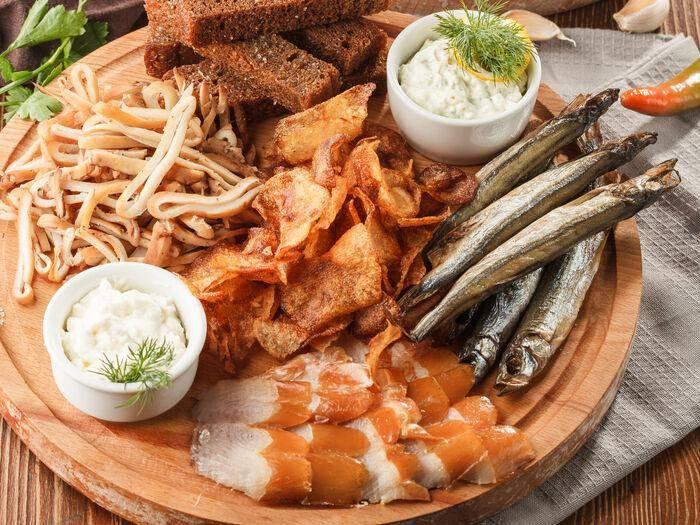 Как правильно подобрать рыбу к пиву ⛳️ алко профи