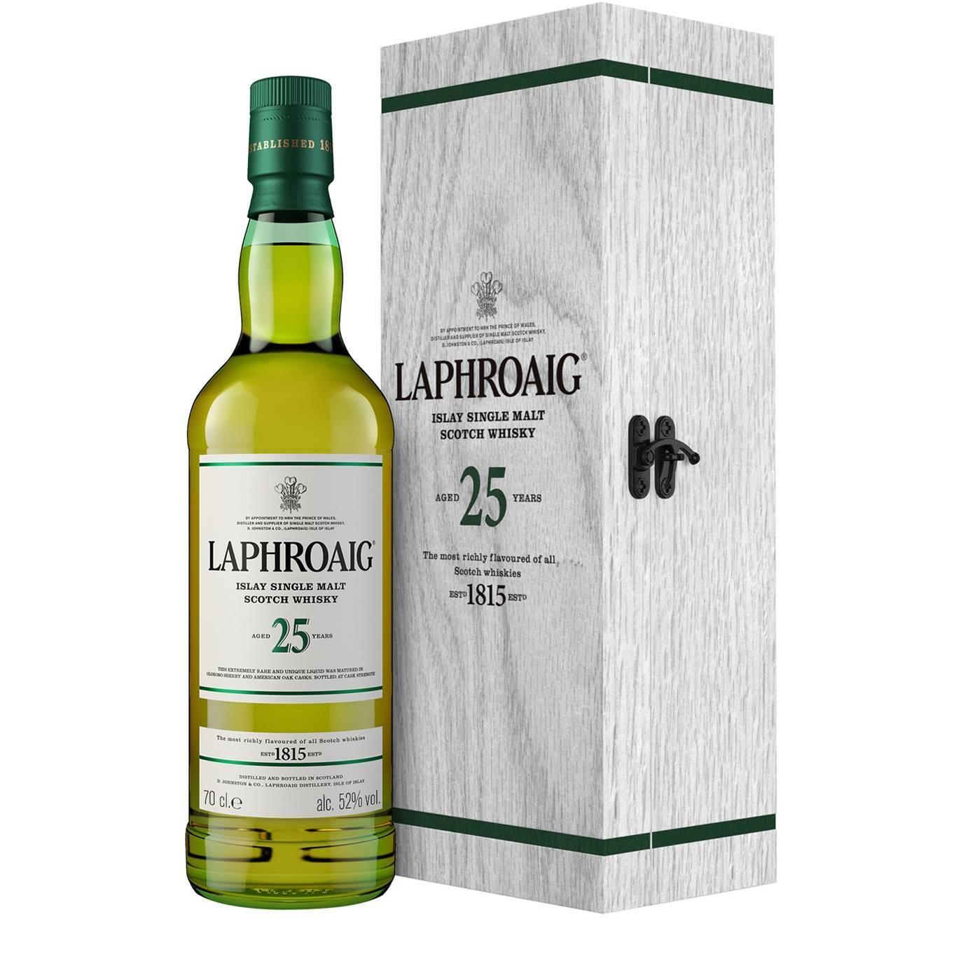 Виски laphroaig malt 10 years old, with box — купить лафройг, 10 лет, в коробке в москве, цена 6120 руб.