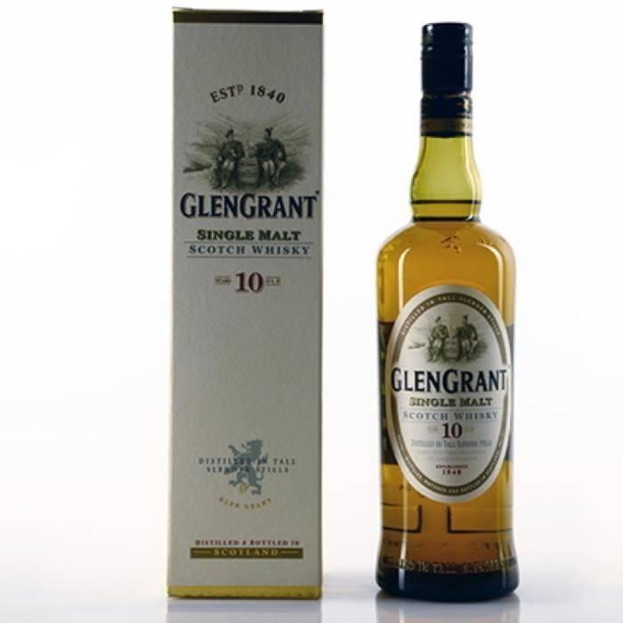 Виски glen grant (глен грант) и его особенности