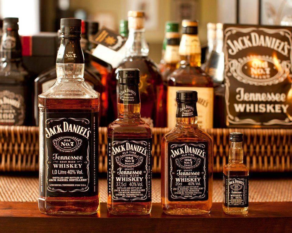 Виды и рецепт виски джек дэниэлс, рекомендации по потреблению
