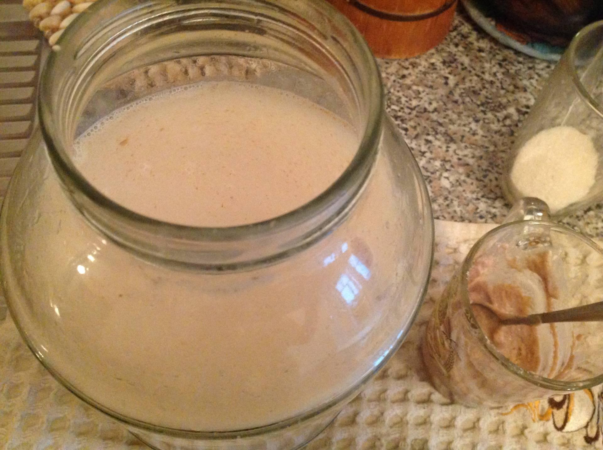 Хлебный квас и вечная квасная закваска – кулинарный рецепт