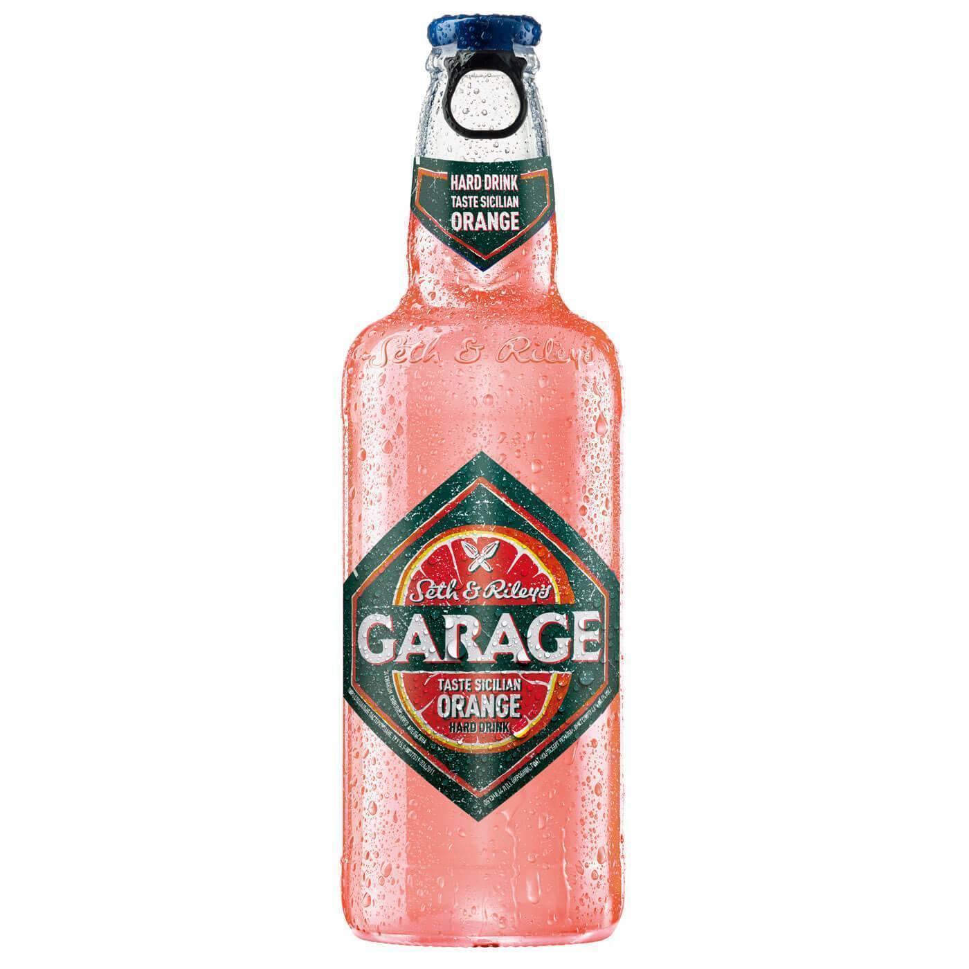 Алкогольный напиток гараж: вкусы, виды, сколько градусов