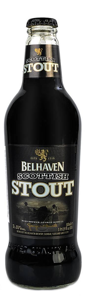 Обзор пива belhaven scottish stout