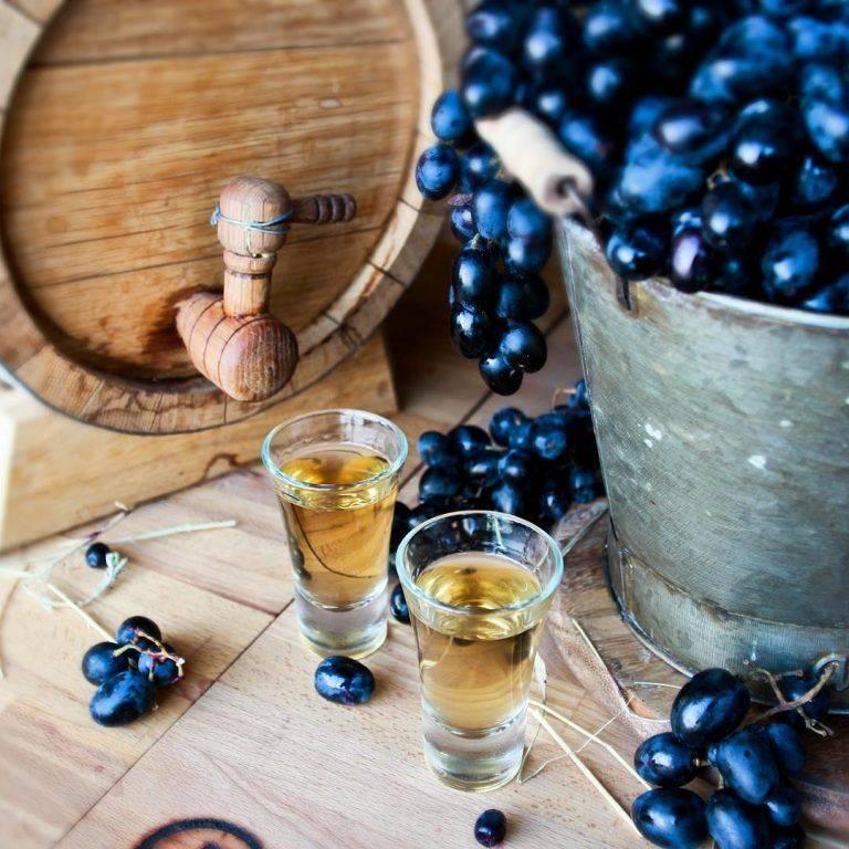 Чача из винограда в домашних условиях: как делать брагу и на ее основе приготовить напиток, и простой рецепт приготовления, правильное хранение и употребление