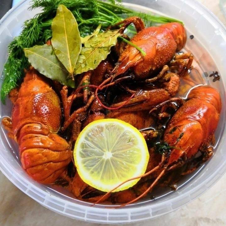 Вареные раки – кулинарный рецепт