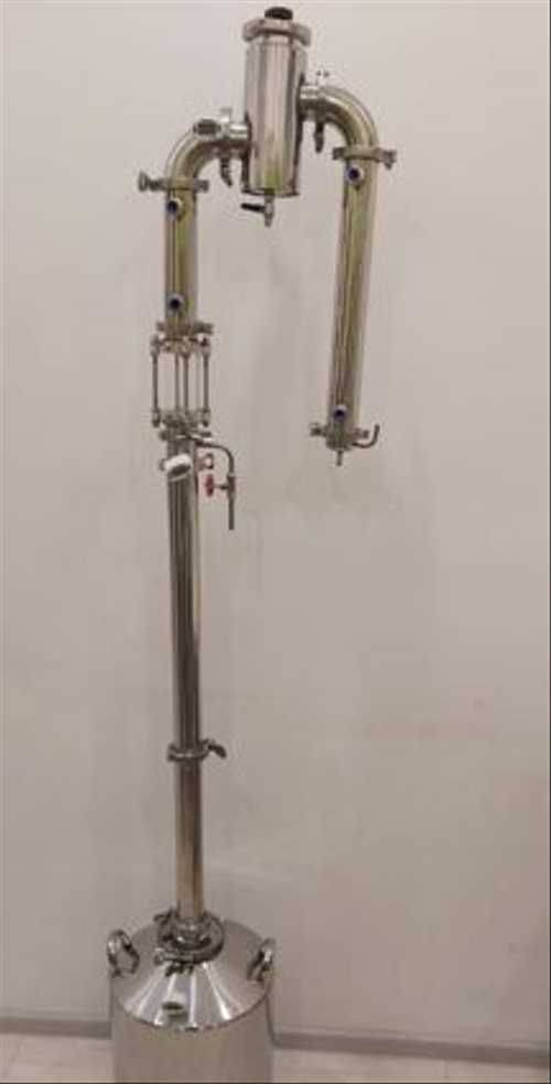 Обзор самогонного аппарата хд-4 (колонна и дистиллятор)