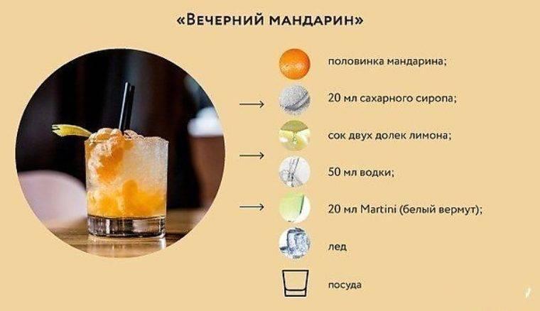 Простые рецепты коктейлей с водкой в домашних условиях