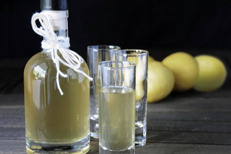 Домашняя лимонная водка