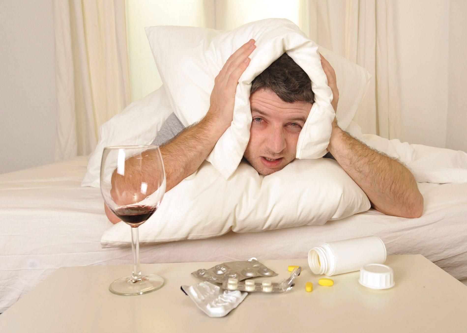 Бессонница после запоя - как уснуть и наладить сон