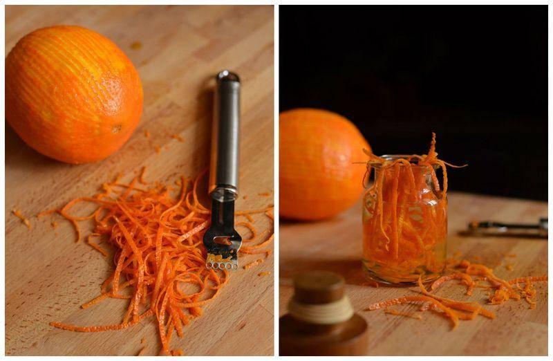 Настойка на спирту апельсиновая
