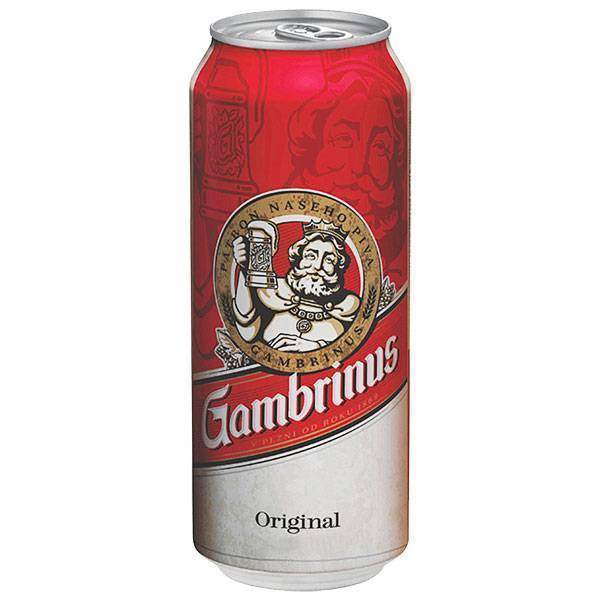 Пиво gambrinus — особенности производства, история бренда