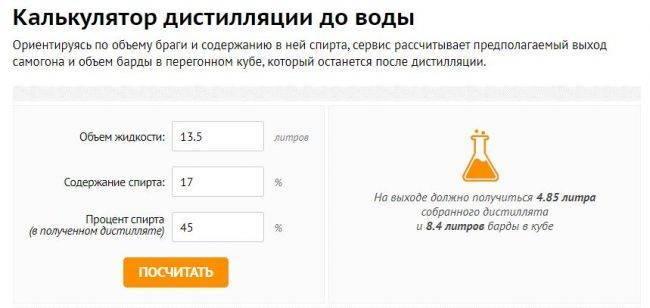Как развести самогон водой правильно? калькулятор самогонщика онлайн