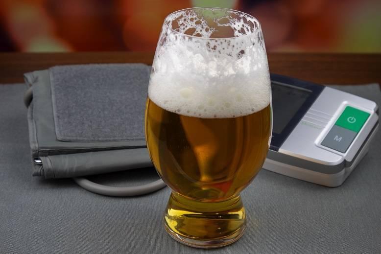 Как пиво влияет на артериальное давление человека