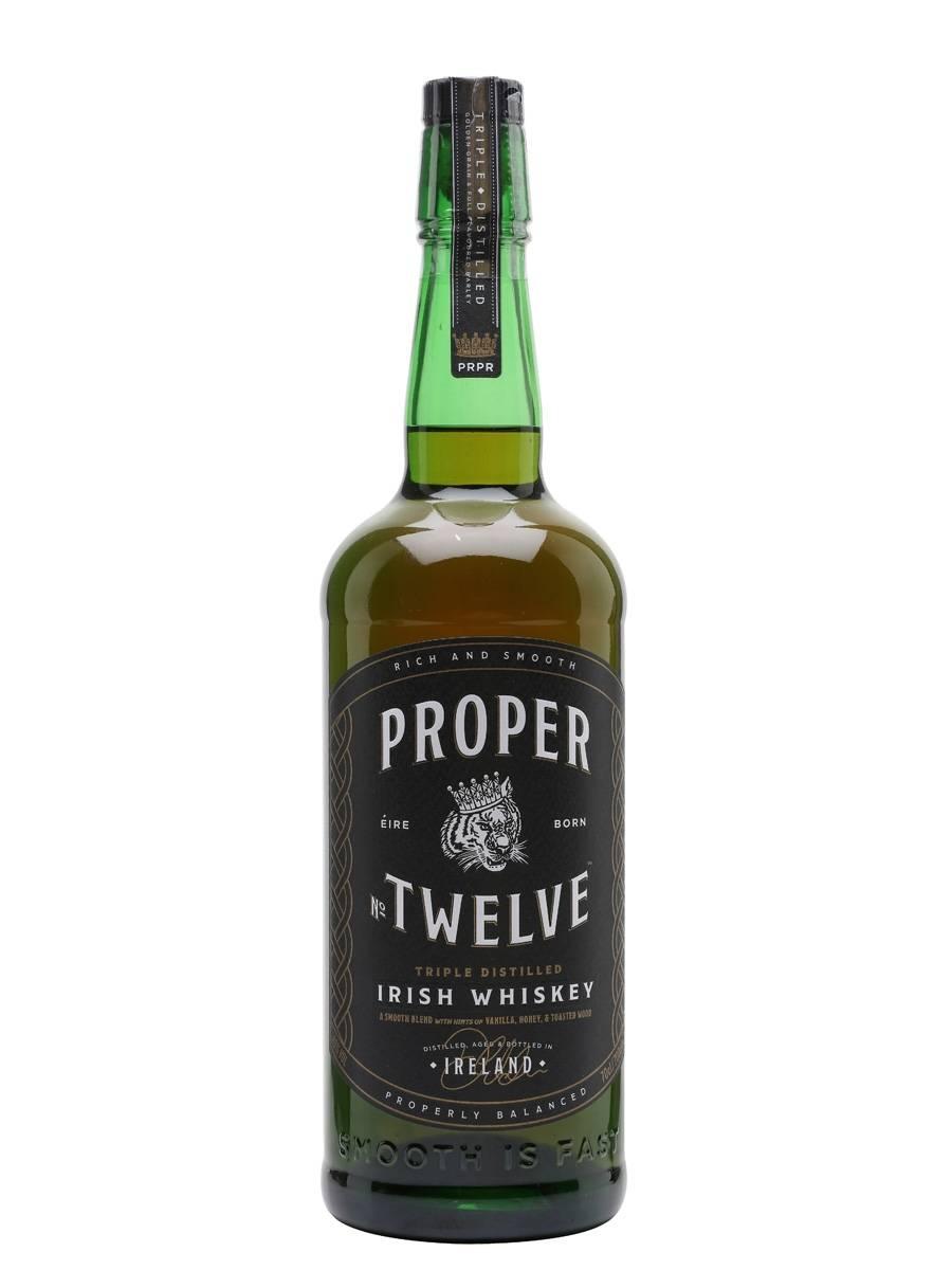 Proper twelve виски: обзор и история, особенности, как пить