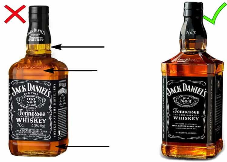 Бутылка джек дэниэлс: как отличить от подделки