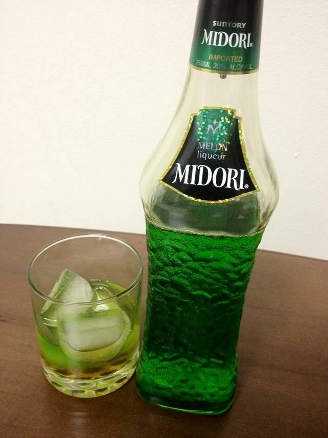 Мидори – дынный ликер в домашних условиях