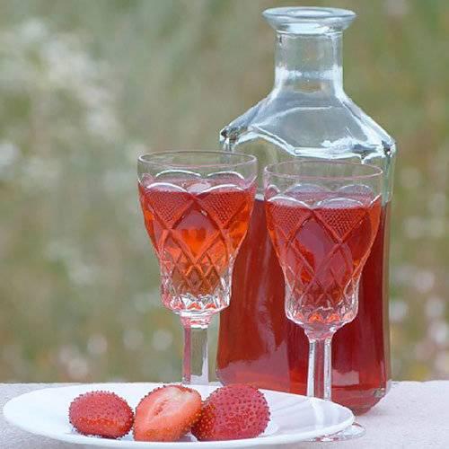 Клубничный ликер: самые вкусные рецепты домашнего алкоголя