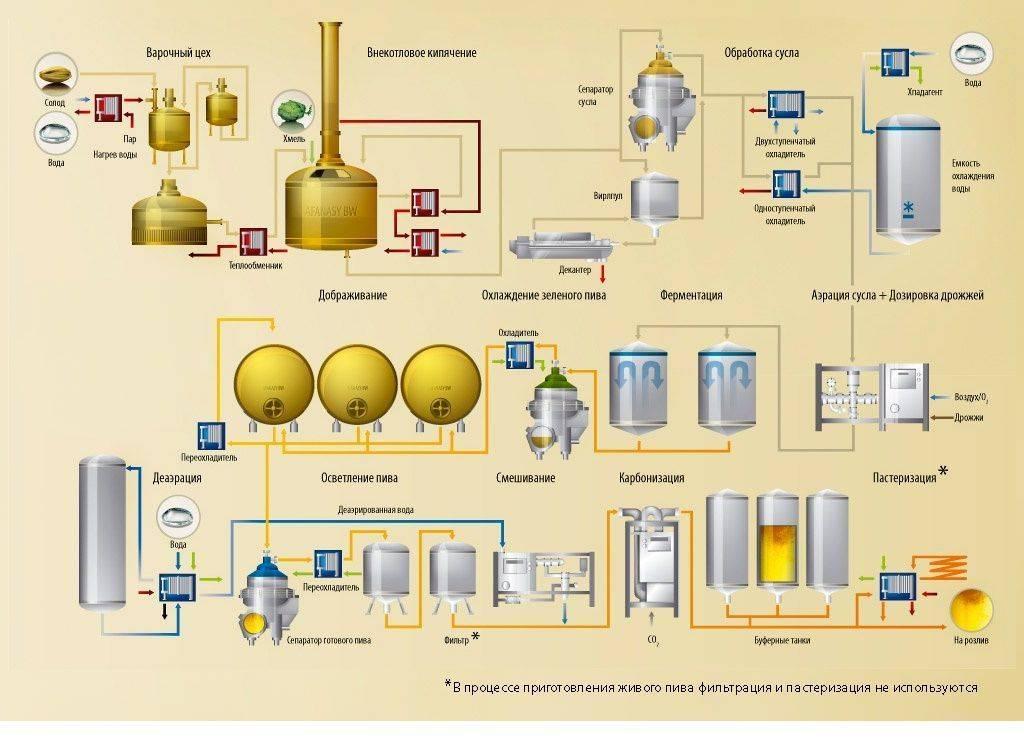Технология процесса брожения и созревания   cbs