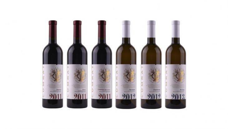 """Молдавские вина: лучшие полусладкие сорта коллекции """"garling"""""""