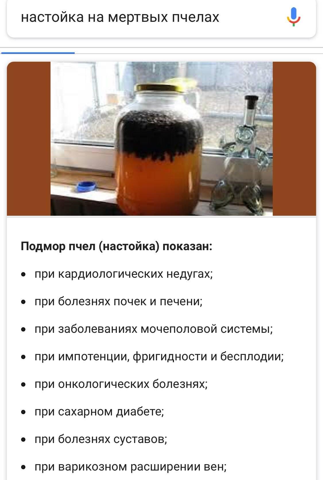 Подмор пчелиный: лечебные свойства, его применение для мужчин и для женщин, польза и вред.