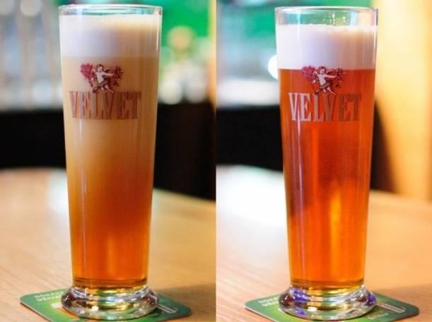 Пиво вельвет - чешское произведение искусства + видео
