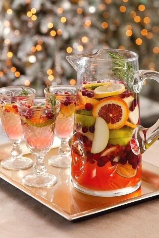 Лучшие новогодние напитки — рецепты алкогольных и безалкогольных коктейлей 2020
