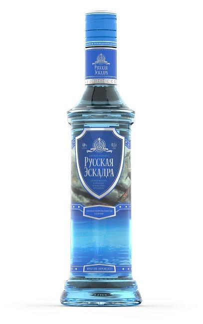 Обзор водки Русская эскадра