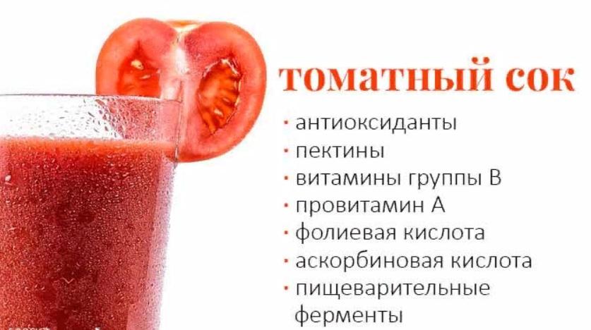 Полезен ли томатный сок с похмелья?