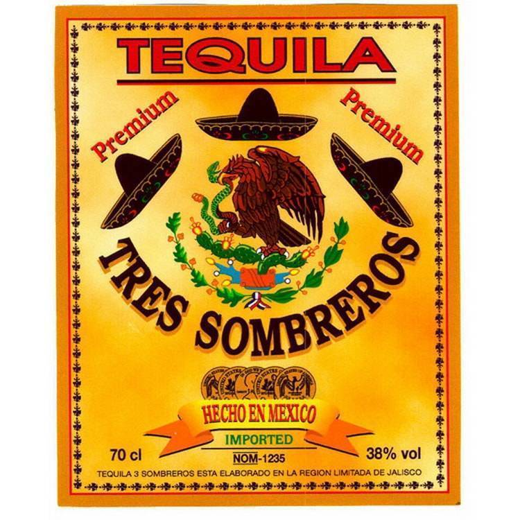 Текила сомбреро репосадо — история алкоголя
