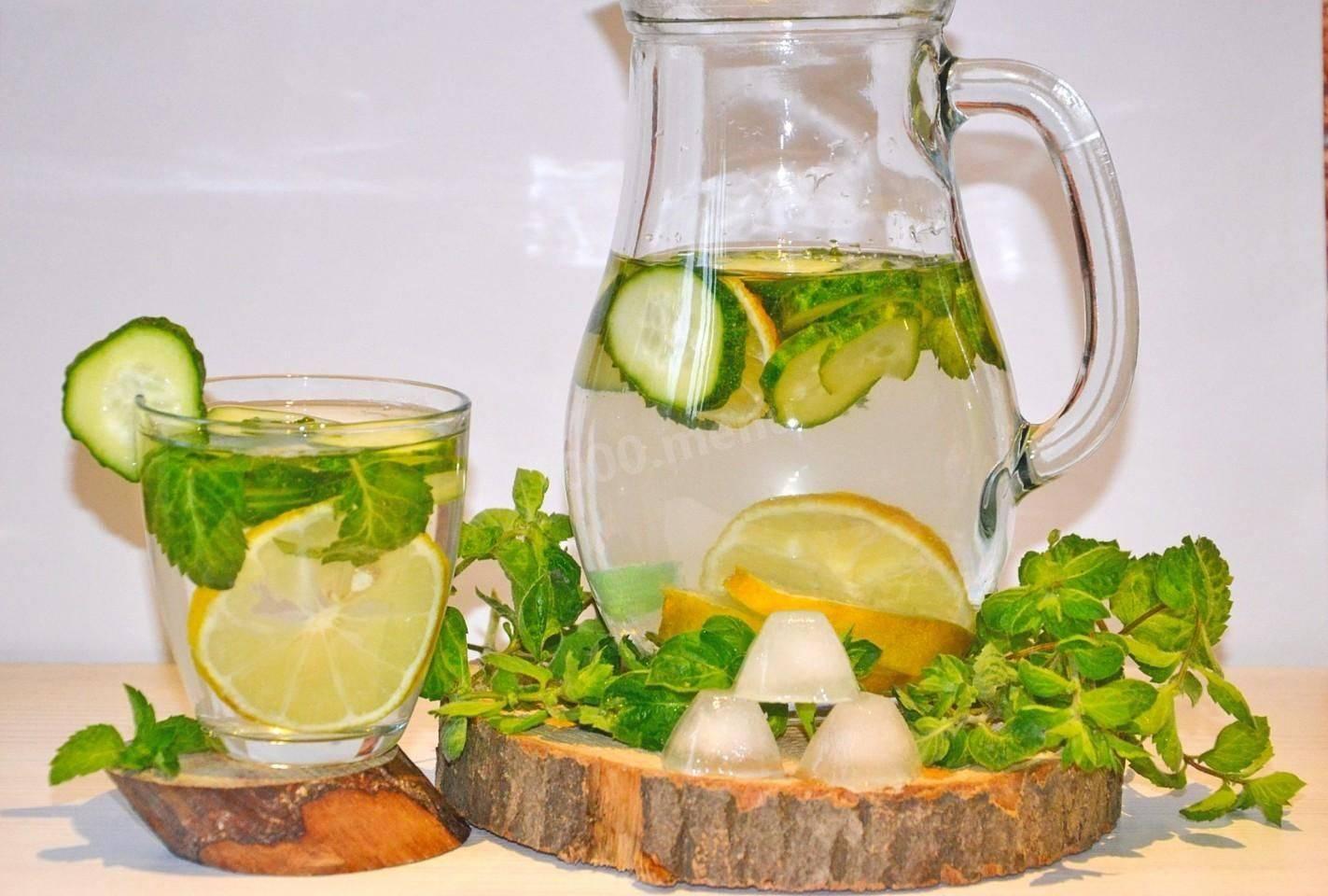 ❶ вода с лимоном для устранения похмелья