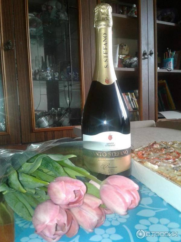 Шампанское santo stefano - описание, виды, новинки! – как правильно пить