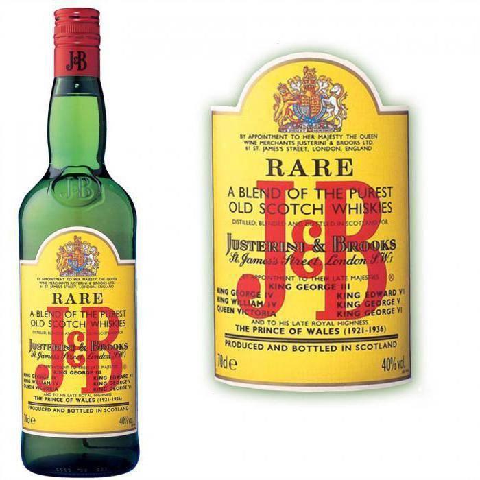 Виски jb rare (джей энд би): как правильно пить скотч, с какими закусками | геоводка