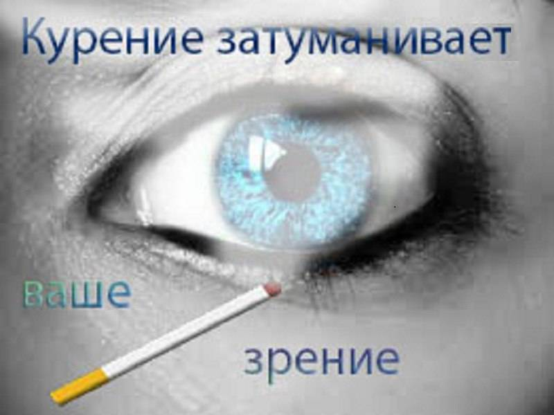 Вред курения для зрения: самые распространенные болезни