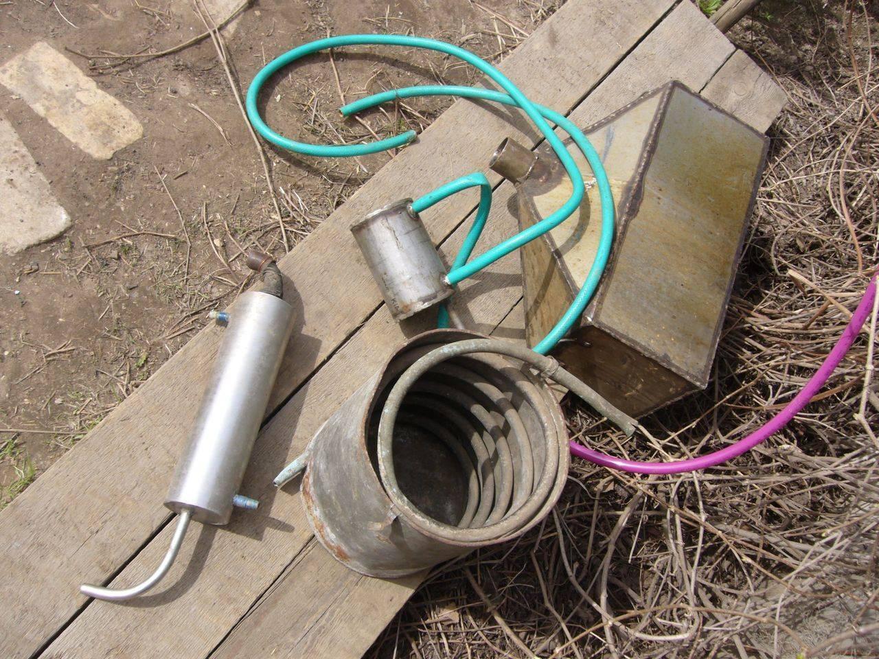 Диаметр медной трубы на самогонный аппарат. использование змеевика в самогонном аппарате