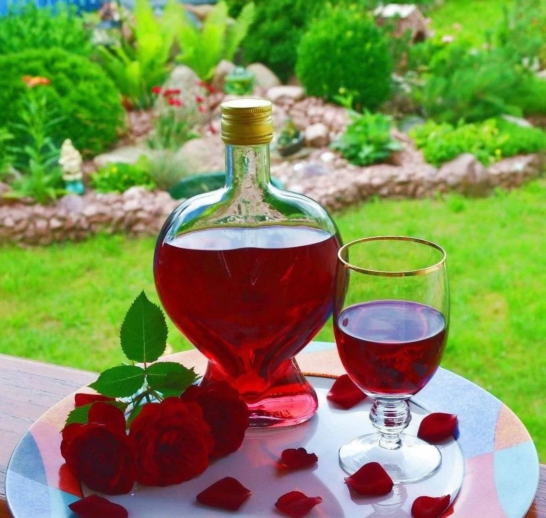 Успеть запечатлеть лето: домашнее вино из лепестков роз