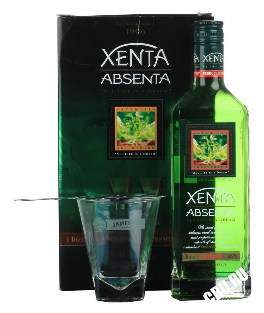 Абсент ксента (xenta): история, процесс производства, виды + как отличить подделку