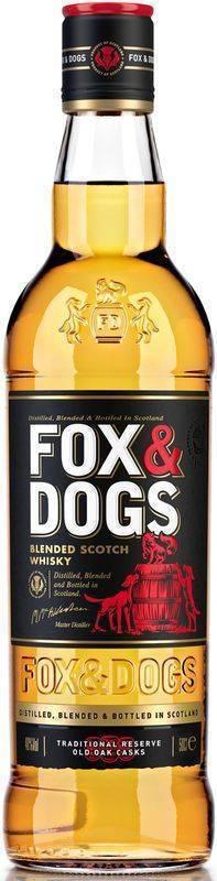 Шотландский виски fox and dogs