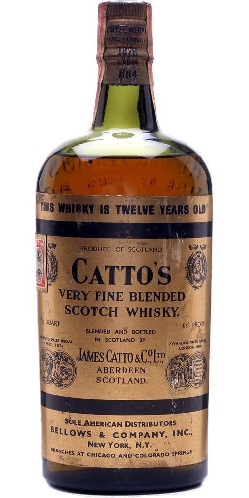 Виски каттос (cattos): история, обзор вкуса и видов