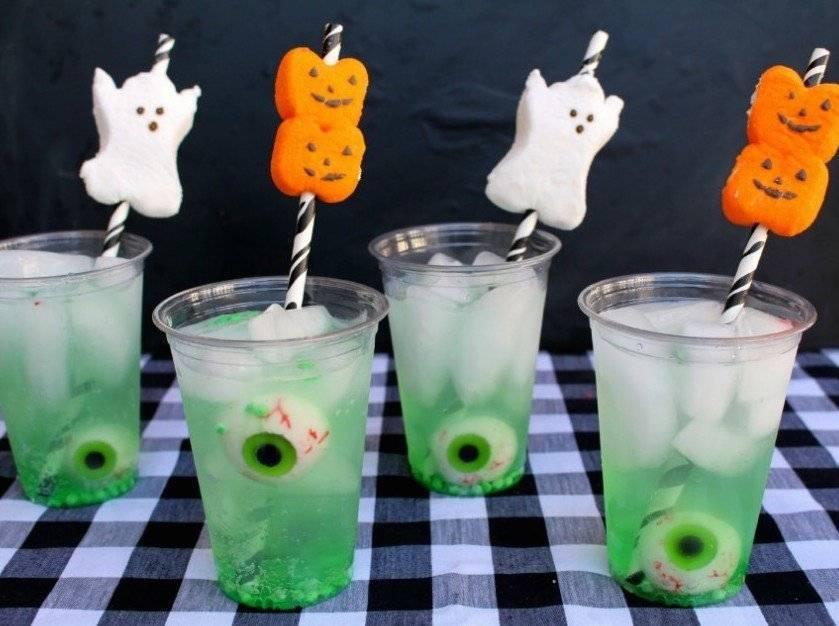 Встречаем хэллоуин в домашних условиях: 13 жутких коктейлей