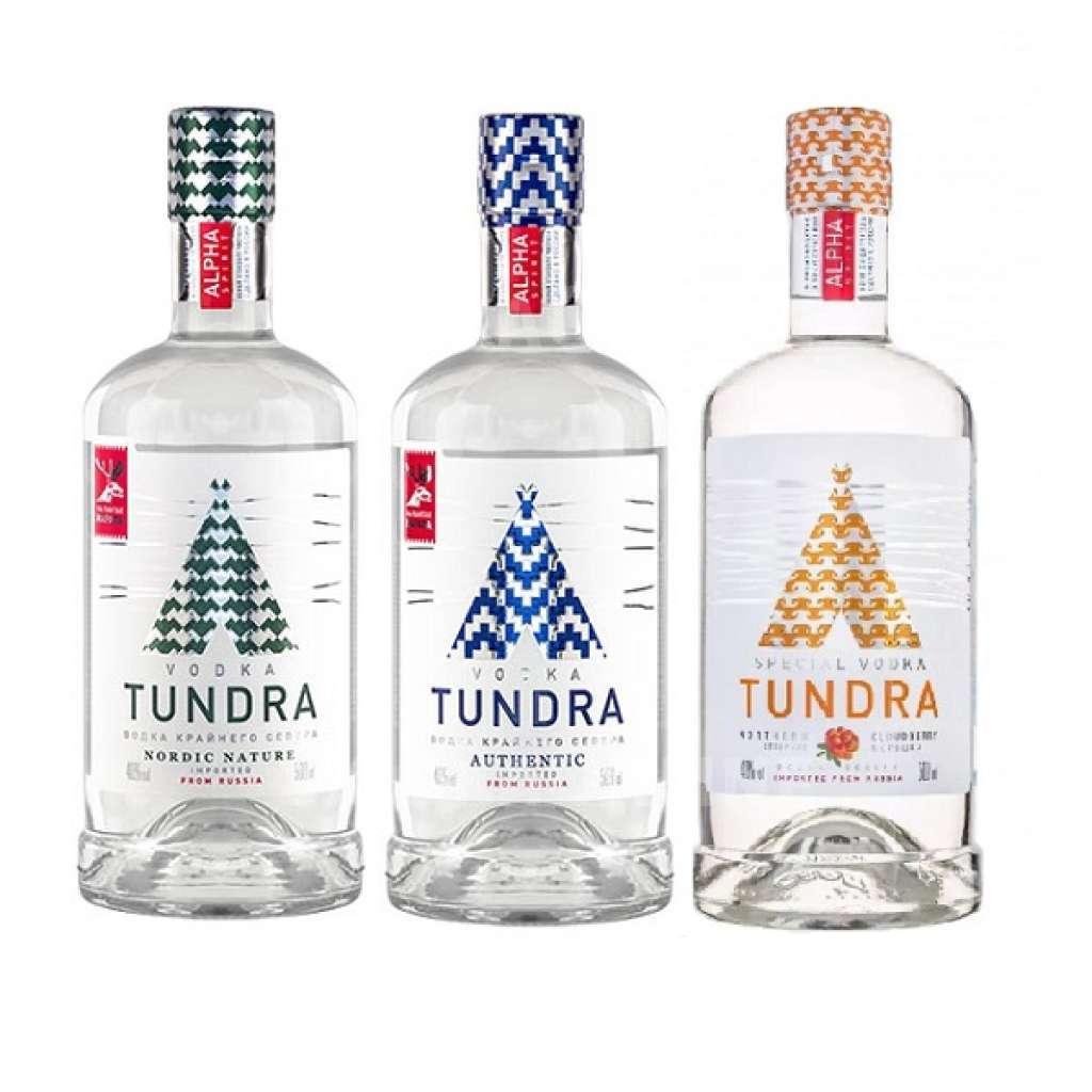 Водка «тундра (tundra)»: описание и виды марки