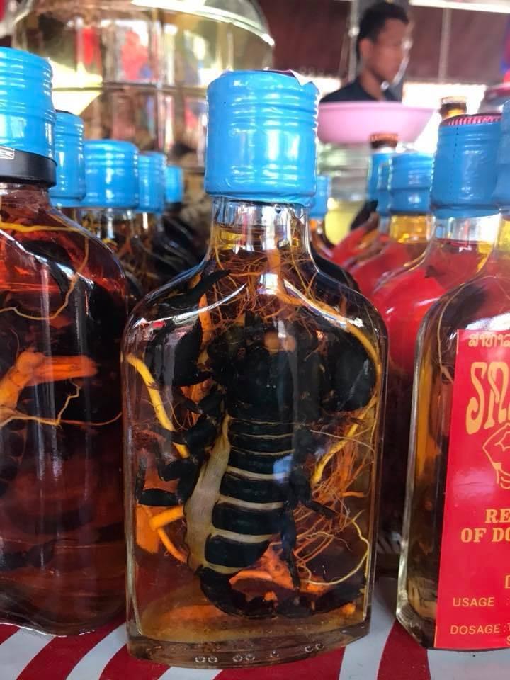 Тайский виски и другой тайский алкоголь - пиво, вино, настойки