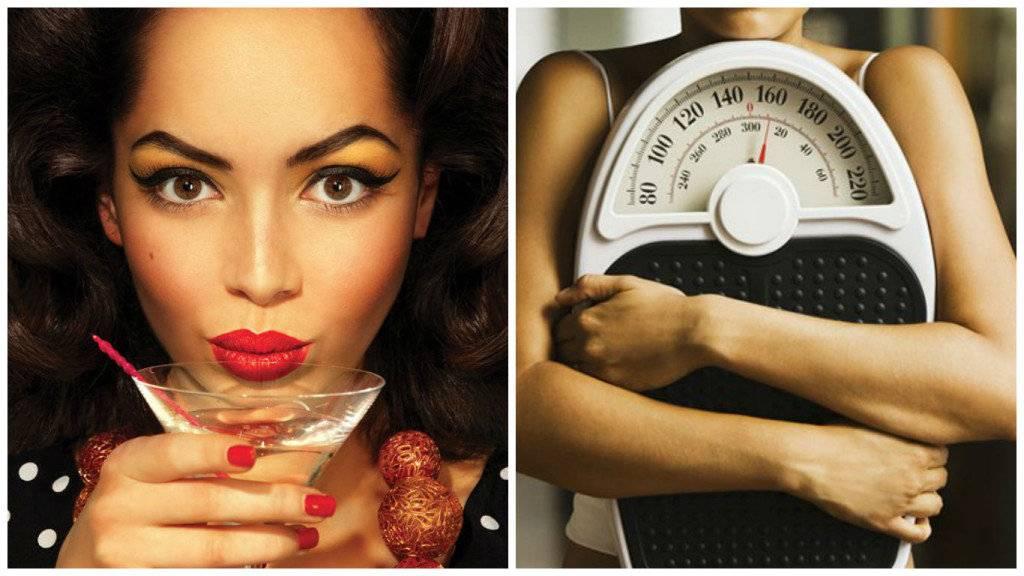 Можно ли употреблять алкоголь при похудении
