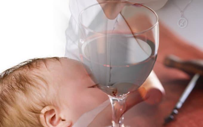 Можно ли вино при грудном вскармливании – безопасная доза для ребенка. советы, фото, видео.
