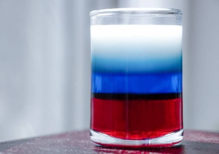 Коктейль флаг россии рецепт — история алкоголя