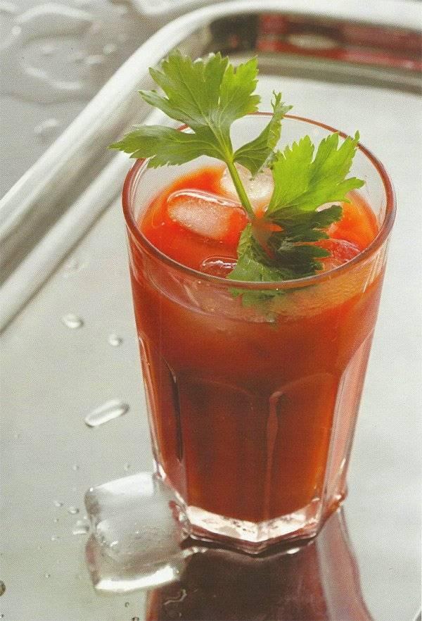 Рецепт приготовления коктейля кровавая мэри