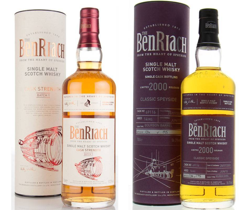 Виски benriach (бенриах) и его особенности
