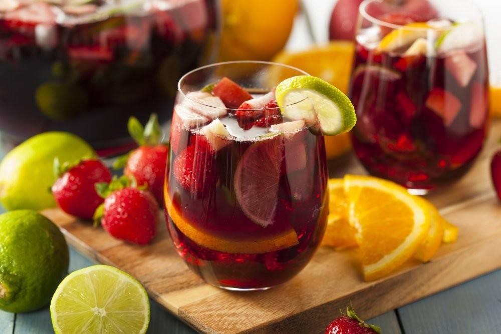 Сангрия: рецепт из красного вина с фото, видео как приготовить в домашних условиях вкусная кухня