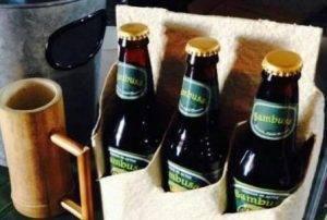 Зеленое пиво тануки – китайский напиток из бамбука